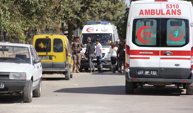 Gaziantep'te baskına giden polislere ateş açıldı