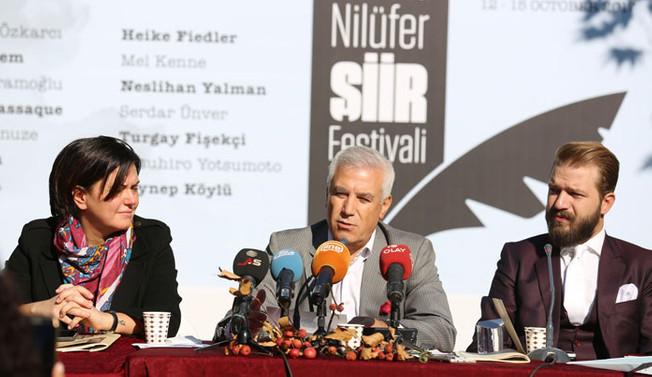 2. Uluslararası Nilüfer Şiir Festivali başlıyor