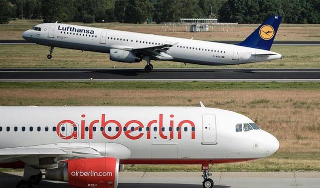Lufthansa, Air Berlin'i satın alıyor