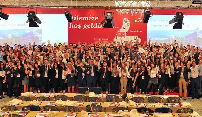 PwC Türkiye, 243 kişiyi kadrosuna kattı