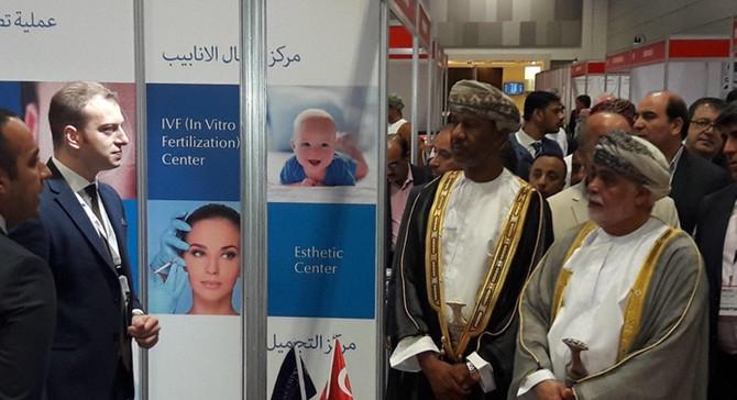 Medipol, Umman'da Türkiye'yi temsil etti