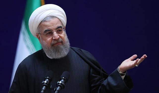 Ruhani'den Trump'a tepki