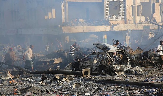 Somali'de ölü sayısı 231'e yükseldi