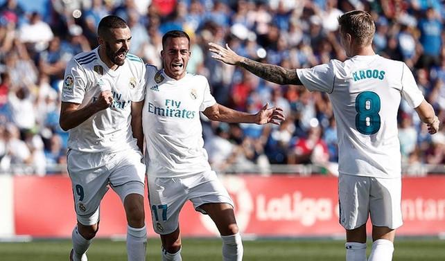 Real Madrid, derbiden 3 puanla döndü