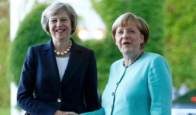 May ve Merkel İran'ı görüştü