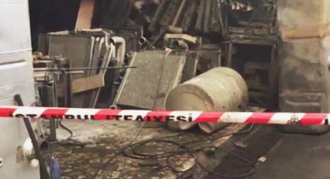 İstanbul'da tanker deposunda patlama: 4 yaralı