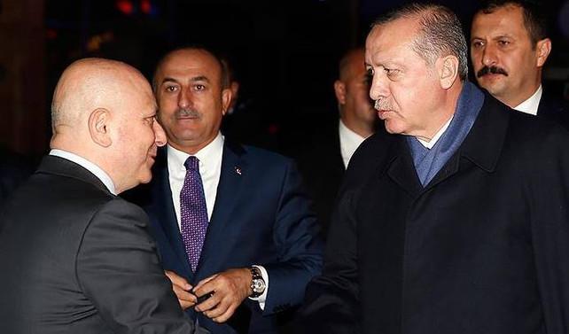 Erdoğan, Baykal'ı ziyaret etti