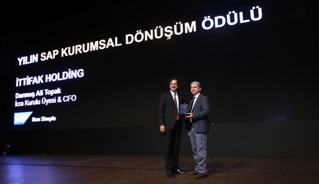 İttifak Holding'e 'Dönüşüm' ödülü