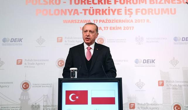 Erdoğan: İkili ticaret hacmi 10 milyar dolar olmalı