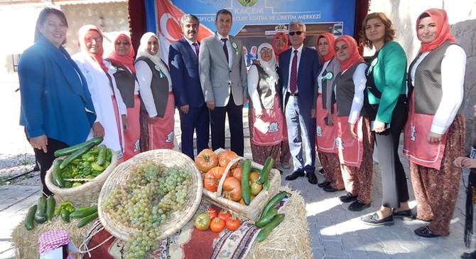 Kayserili kadın çitfçilerden ekonomiye destek