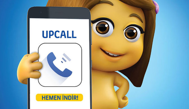 Turkcell'den, yeni nesil arama uygulaması 'UpCall'