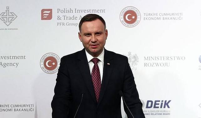Polonya Cumhurbaşkanı Duda: Türkiye ile ilişkilerimiz iyi yönde ilerliyor