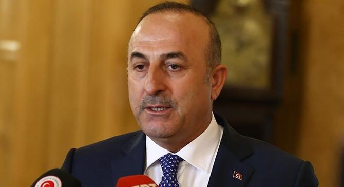 Çavuşoğlu, UNESCO Genel Direktörü Azoulay ile görüştü