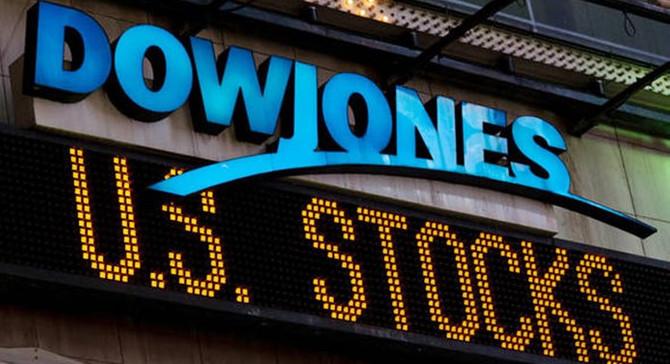 Dow Jones'tan tarihi kapanış!