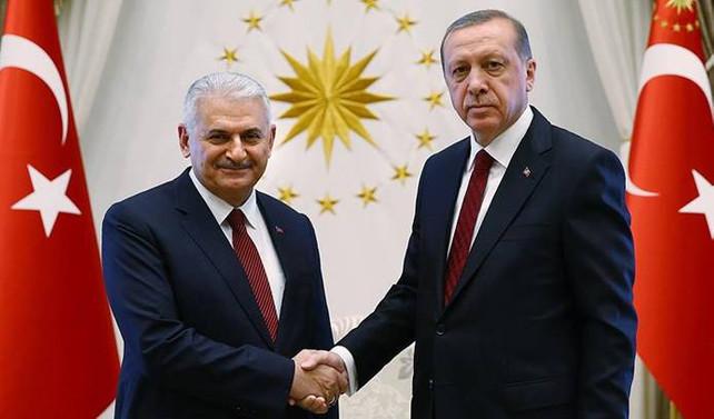 Erdoğan, Yıldırım'ı kabul etti