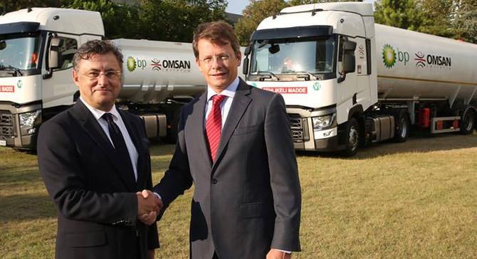 BP Türkiye ile OMSAN taşımada iş birliği yaptı