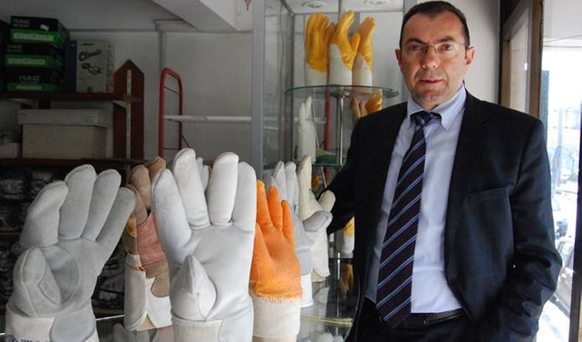 BES, 'organik' deri eldiven üretti, hedefte Avrupa var