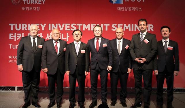 Türkiye'den Güney Kore ve Çin'e yatırım daveti