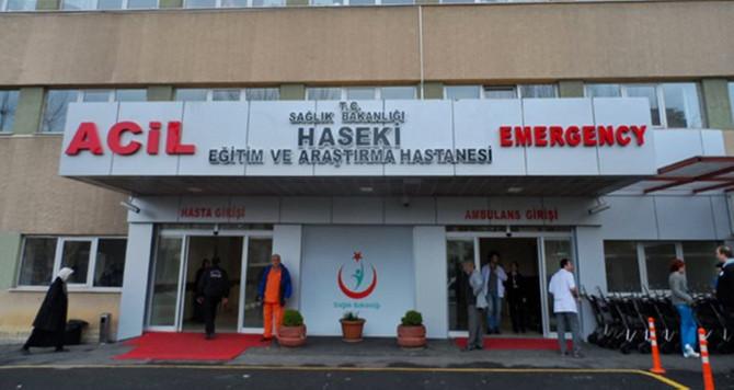 Haseki Hastanesi'nde çıkan yangın söndürüldü