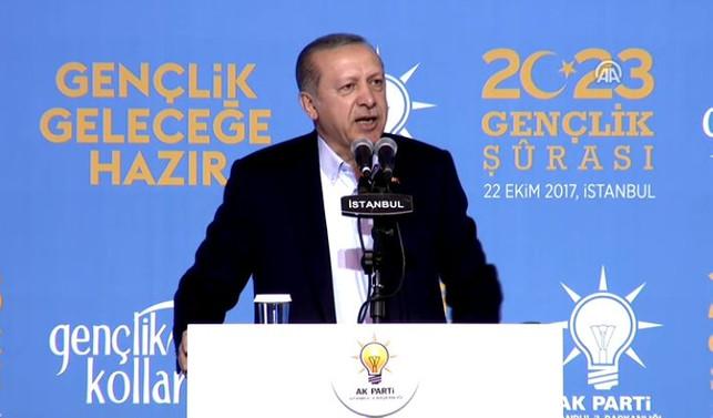 Erdoğan'dan gençlere yabancı dil çağrısı