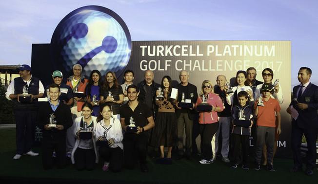 İş dünyası Turkcell Platinum Golf Turnuvası'nda buluştu