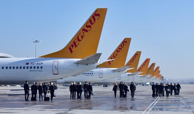 Pegasus'ta hedef, 2018'de 30 milyon yolcu