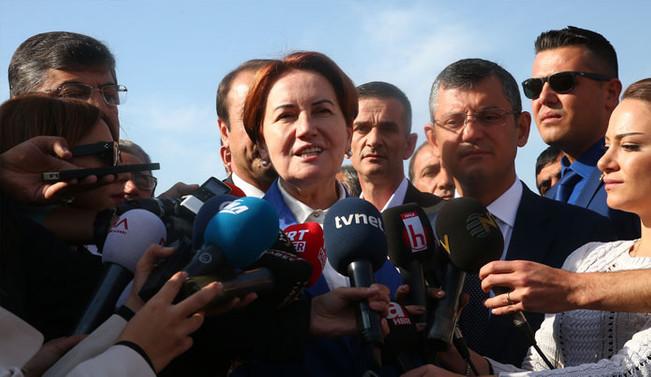 Meral Akşener: Meclis Grubu oluşturma  hedefimiz yok