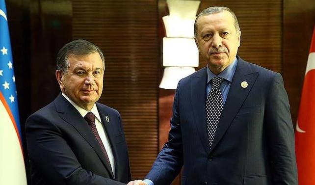 Özbekistan Cumhurbaşkanı, Türkiye'ye geliyor