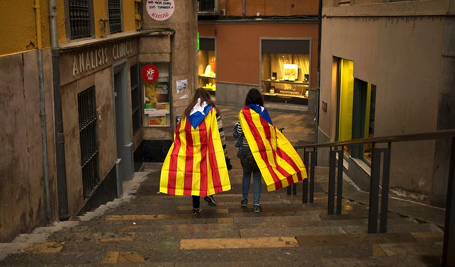 Katalonya sivil itaatsizliğe hazırlanıyor