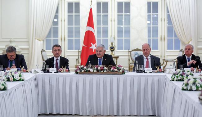 Başbakan Yıldırım Amerikan-Türk Konseyi üyelerini kabul etti