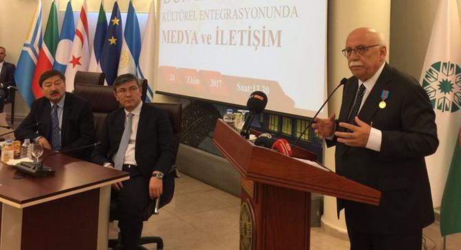 Nabi Avcı'ya Kazakistan Üstün Hizmet Ödülü