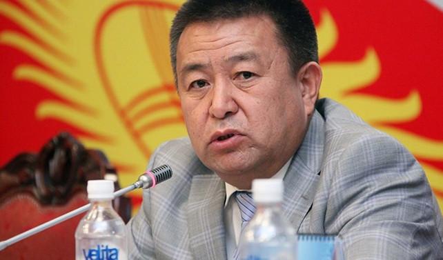 Kırgızistan Meclis Başkanı istifa etti