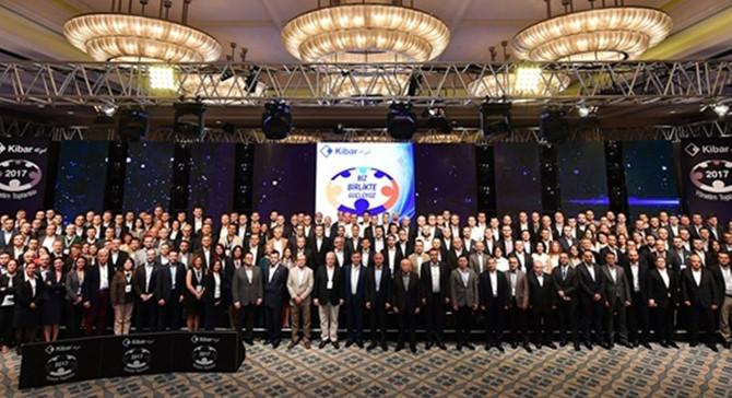 Kibar Holding 45. yılını kutladı