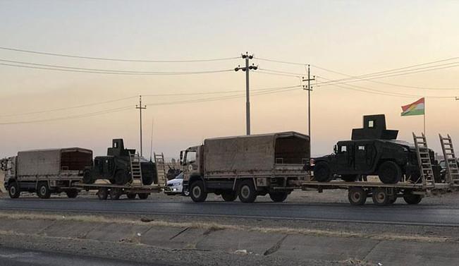 Irak güçleri ile Peşmerge arasındaki çatışmalar devam ediyor
