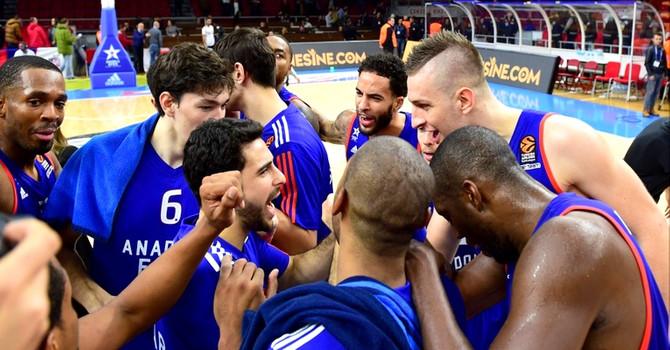 Anadolu Efes'in konuğu CSKA Moskova