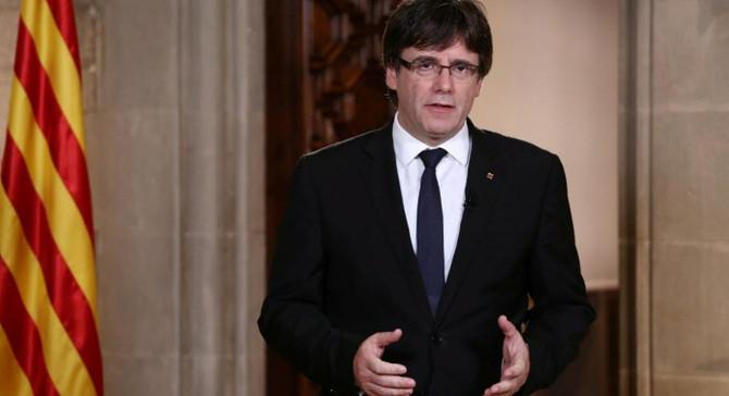 Puigdemont: Tehditler bitmedikçe erken seçime gitmeyiz