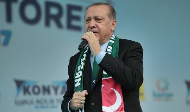 Erdoğan: Hukuk onlara başka, bize başka