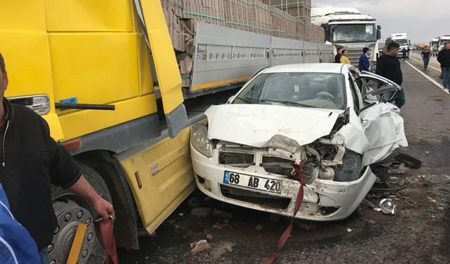 Aksaray'da zincirleme kaza: 15 yaralı