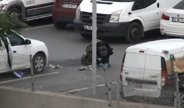 Bayrampaşa'da şüpheli araç paniği: 4 gözaltı