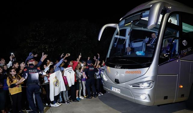 Girona'da Real Madrid için üst düzey önlem