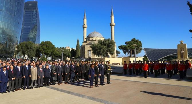 Azerbaycan'da 29 Ekim kutlandı