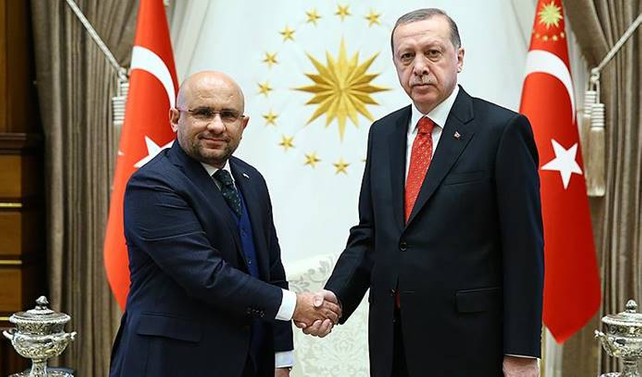 Erdoğan, Yeşilay Genel Başkanı Öztürk'ü kabul etti