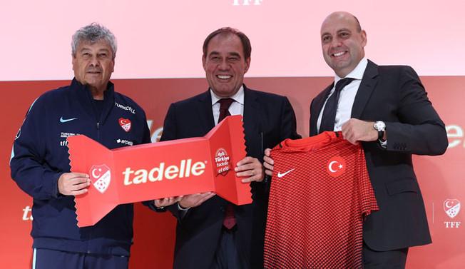 Tadelle, milli takıma sponsor oldu