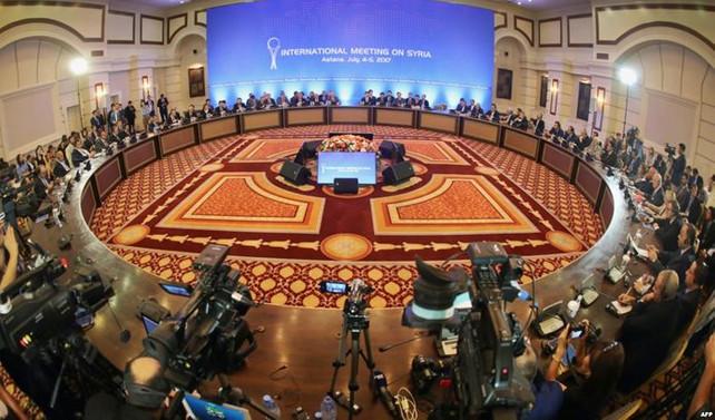 Astana toplantılarının 7'ncisi başladı