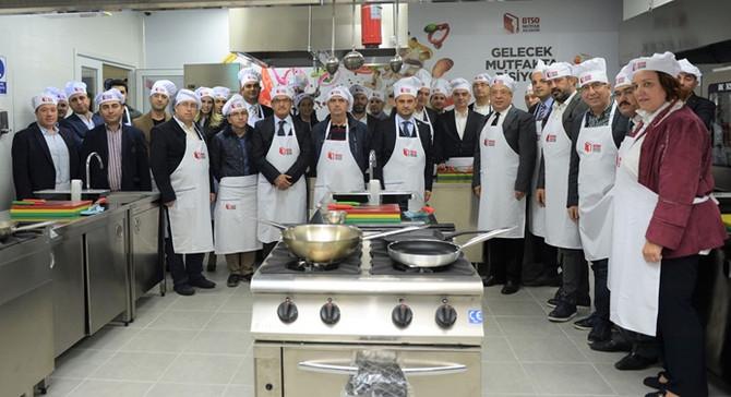 BTSO Mutfak Akademi'nin tanıtım toplantısı yapıldı