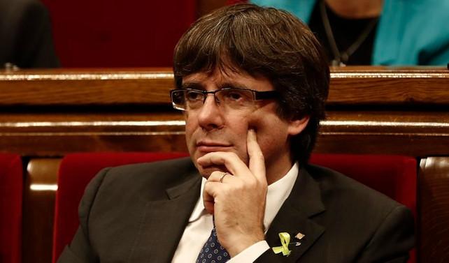Görevden alınan Katalan yöneticiler Belçika'ya gitti