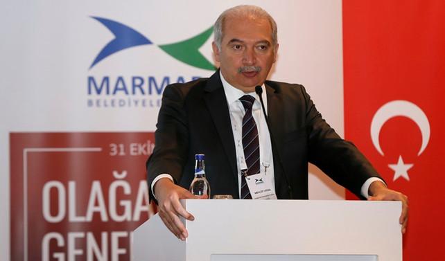 Uysal, Marmara Belediyeler Birliği'nin yeni başkanı oldu