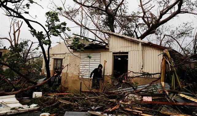 Maria kasırgasının bilançosu: 90 milyar dolar zarar