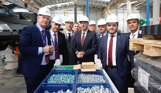Alman devinden Sakarya'ya fabrika