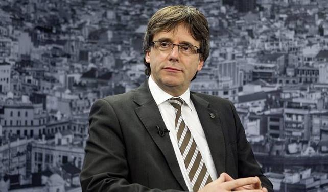 Katalonya başkanından kararlılık mesajı